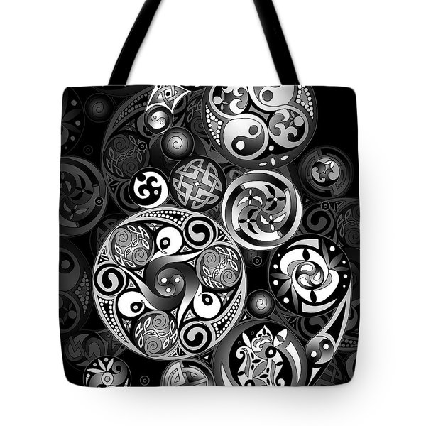 Celtic Clockwork Tote Bag