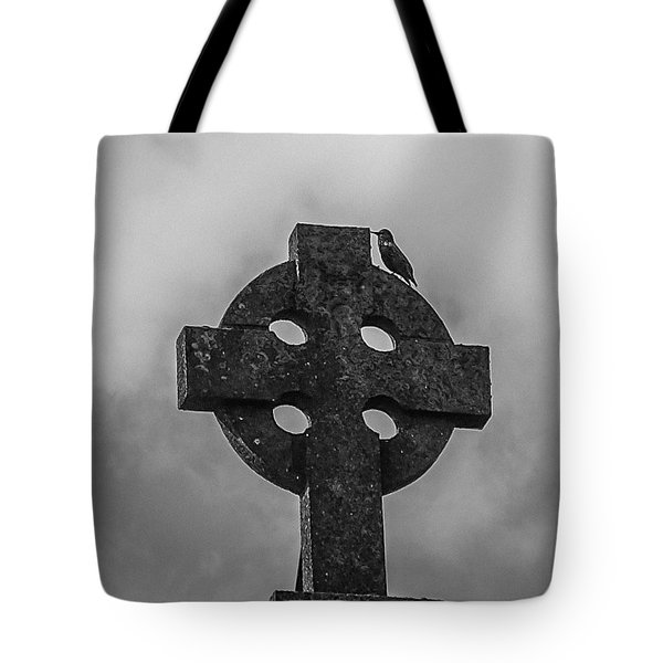 Celtic Cross #2 - Scotland Tote Bag