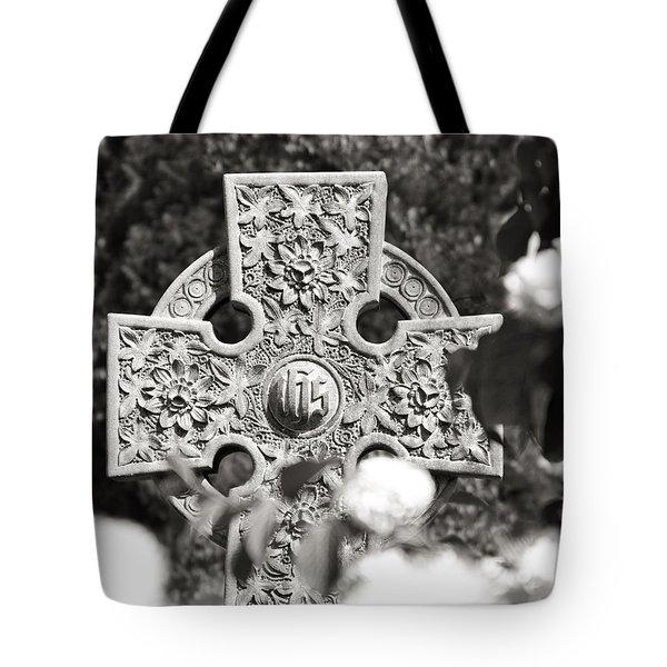 Celtic Cross I Tote Bag by Tom Mc Nemar