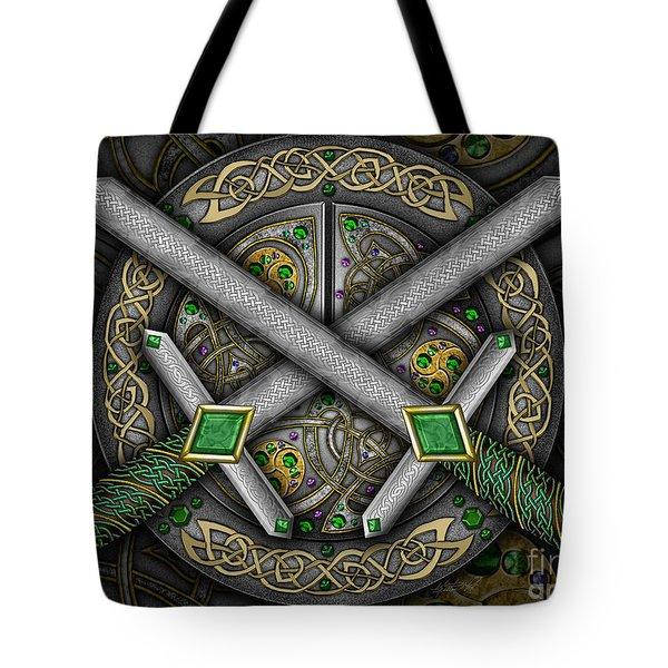 Celtic Daggers Tote Bag