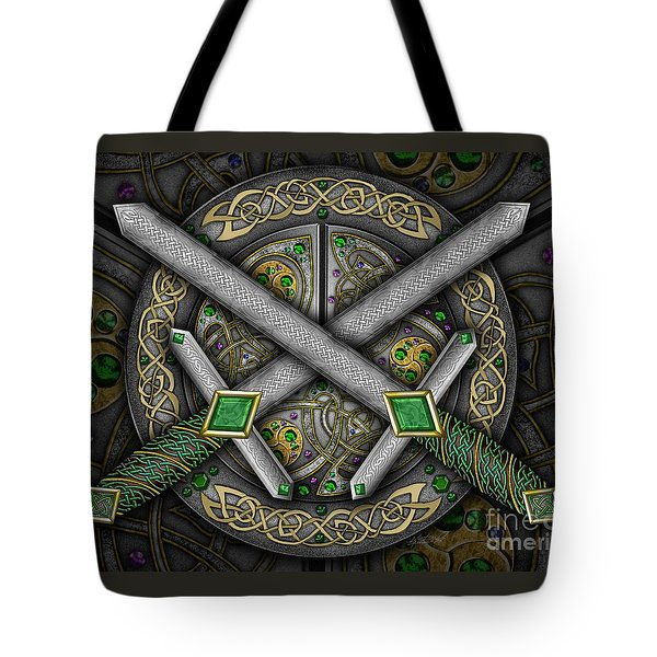 Celtic Daggers Tote Bag