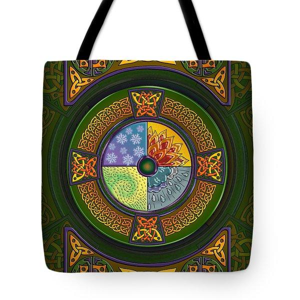 Celtic Elements Tote Bag
