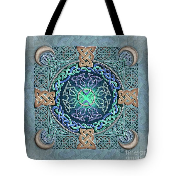 Celtic Eye Of The World Tote Bag