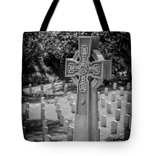 Celtic Grave Tote Bag