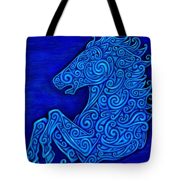 Celtic Horse Tote Bag
