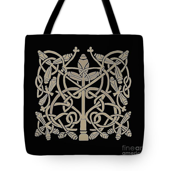 Celtic Leaves Knots One Tote Bag