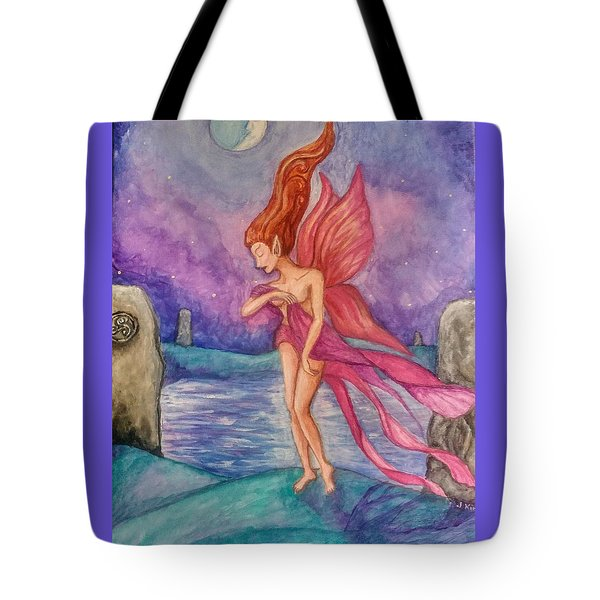 Celtic Moon Tote Bag