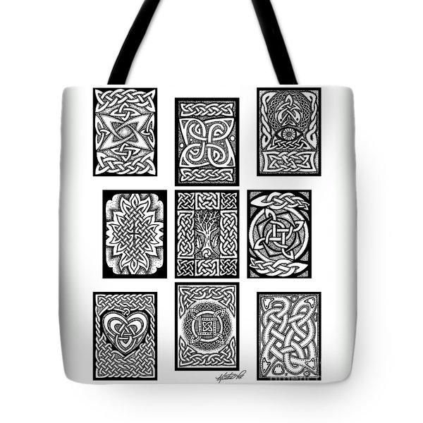 Celtic Tarot Spread Tote Bag