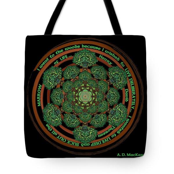 Celtic Tree Of Life Mandala Tote Bag