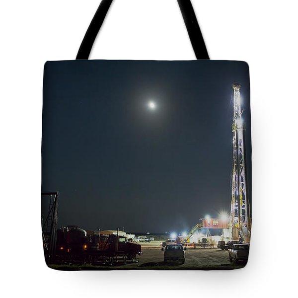 Cement Job Tote Bag