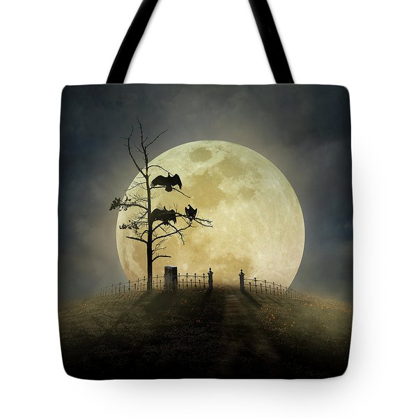 Cemetery Hill Tote Bag