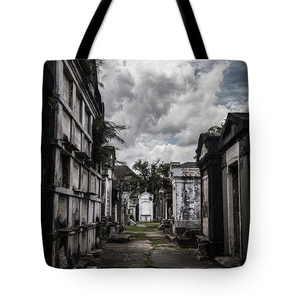 Cemetery Row Tote Bag