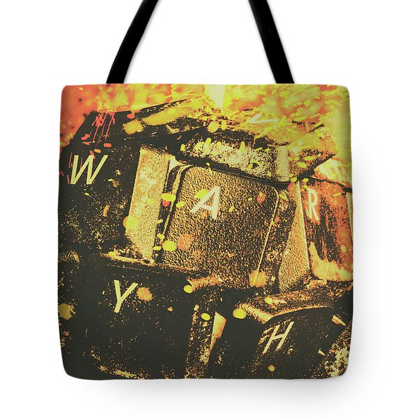 Censorship As A Weapon Tote Bag