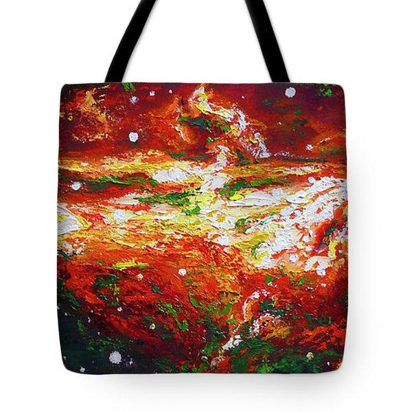 Centaurus Tote Bag by Ericka Herazo