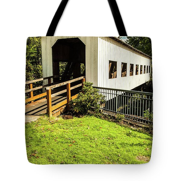Centennial Bridge Tote Bag