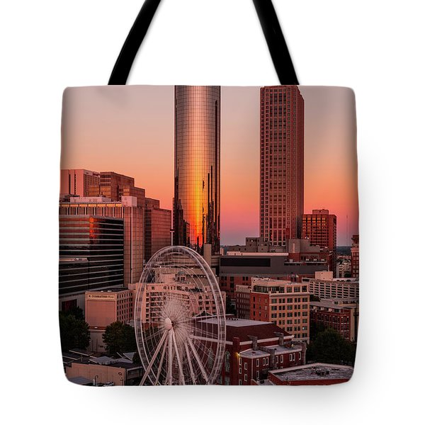 Centennial Olympic Park Tote Bag