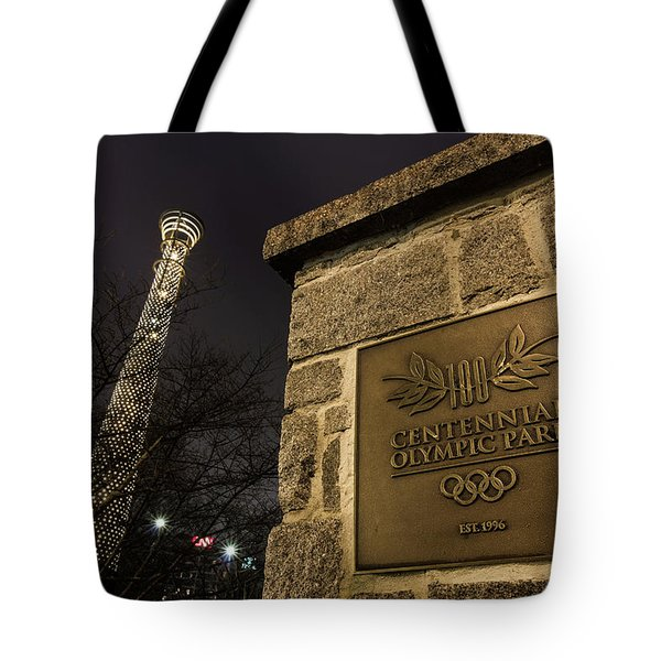 Centennial Park 1 Tote Bag