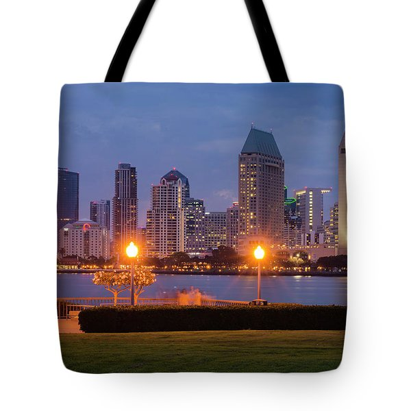 Tote Bag featuring the photograph Centennial Sight by Dan McGeorge