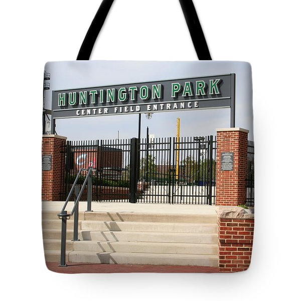 Center Field Entrance At Huntington Park  Tote Bag