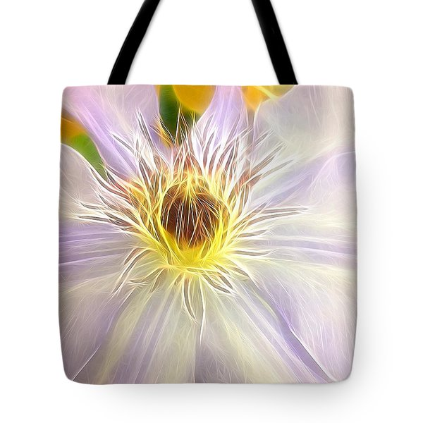 Center Lit Tote Bag