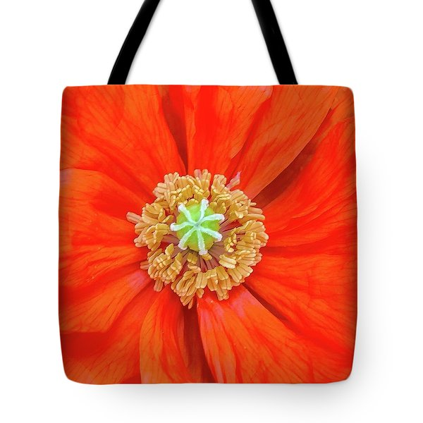 Center Of The Universe Tote Bag by Bruce Carpenter