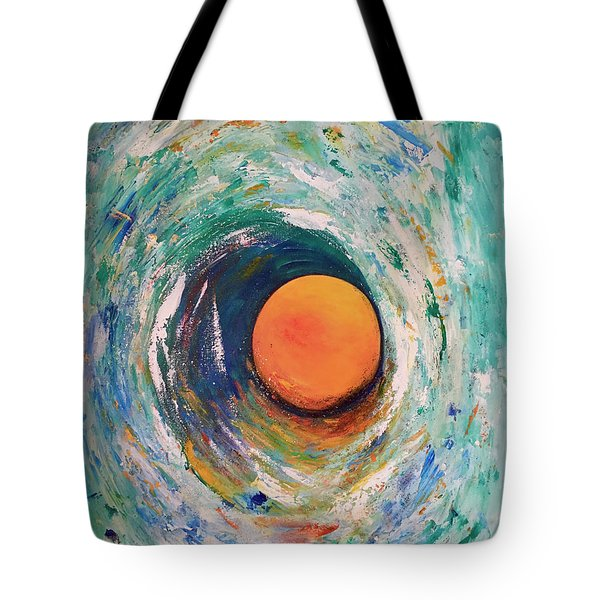 Center Of The Universe... Tote Bag