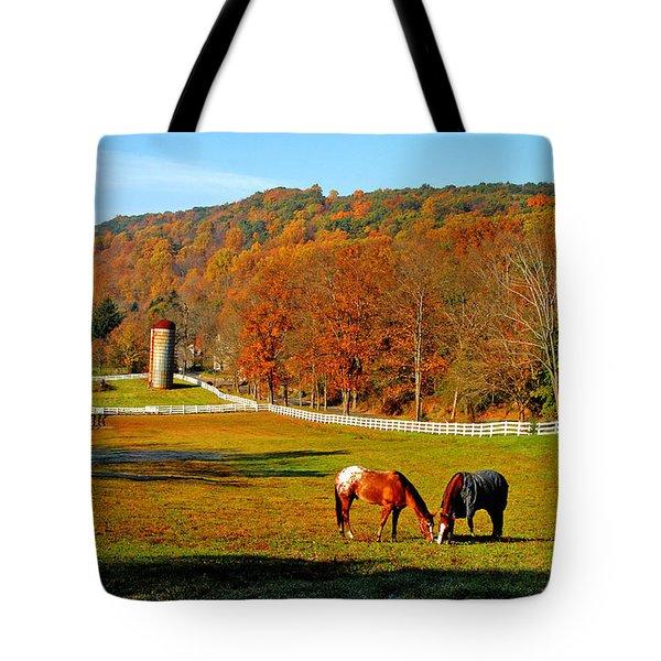 Cherry Valley, Pennsylvania Tote Bag