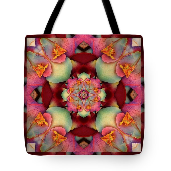 Tote Bag featuring the photograph Centerpeace by Bell And Todd