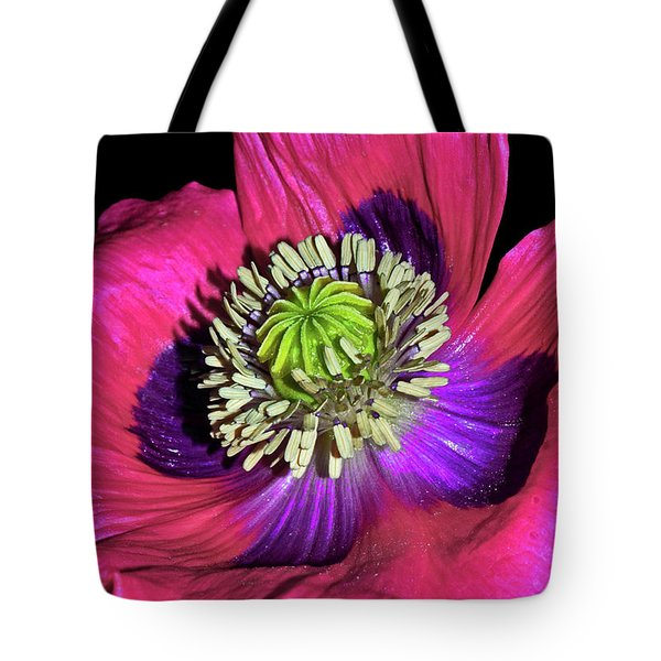 Centerpiece - Poppy 020 Tote Bag by George Bostian