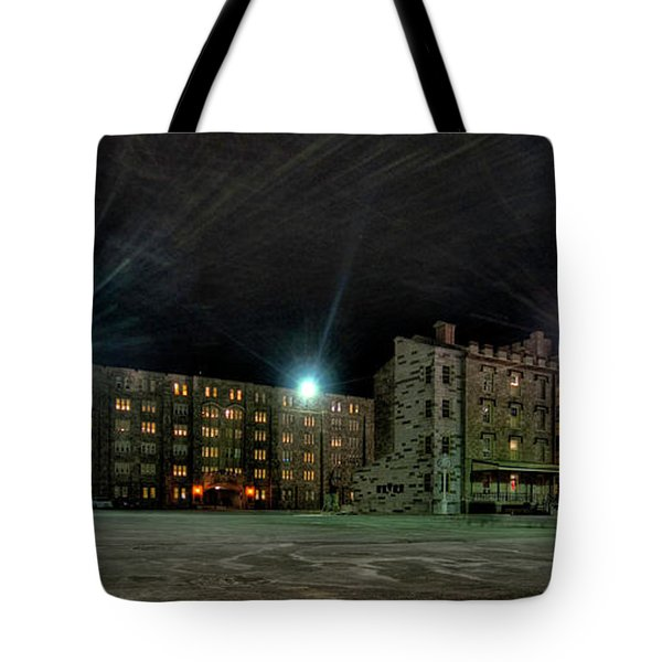 Central Area At Night Tote Bag