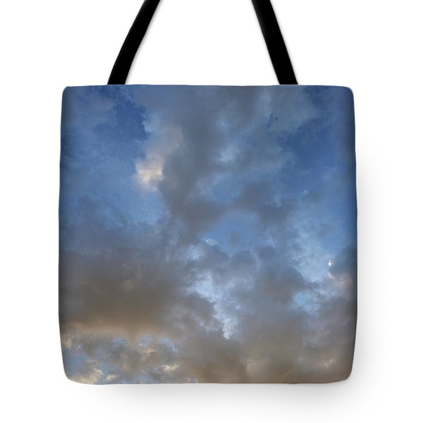 Tote Bag featuring the photograph Central Coast Clouds 1 by Michael Rock