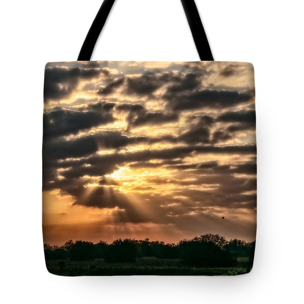 Tote Bag featuring the photograph Central Florida Sunrise by Christopher Holmes