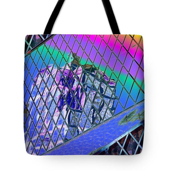 Central Library  Seattle 3 Tote Bag by Tim Allen