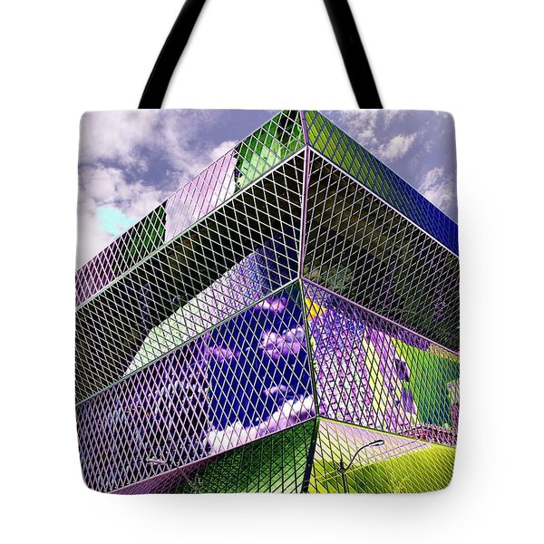 Central Library  Seattle Tote Bag by Tim Allen