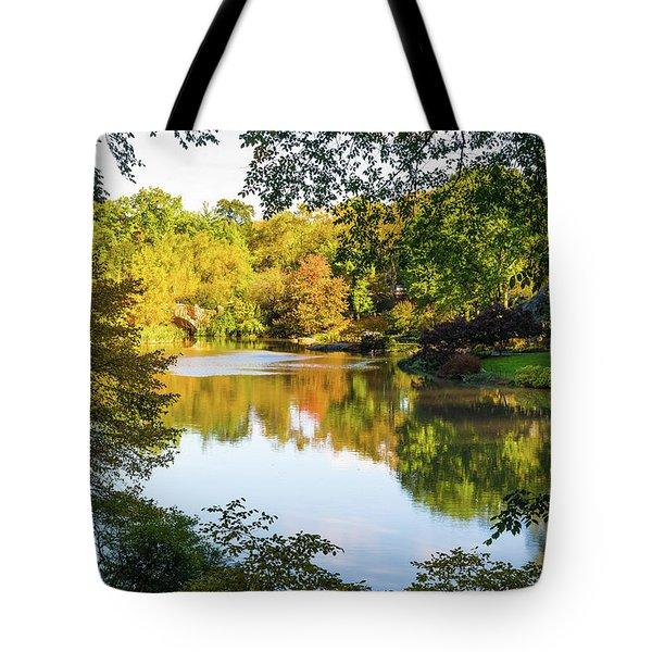 Central Park - City Nature Park Tote Bag