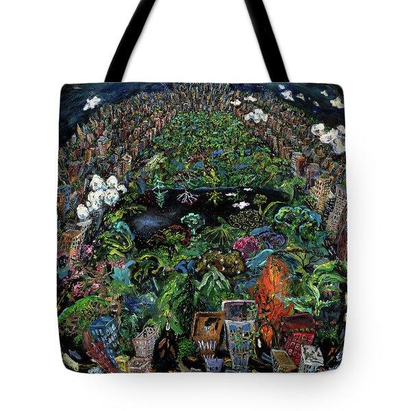 Central Park Tote Bag by Antonio Ortiz