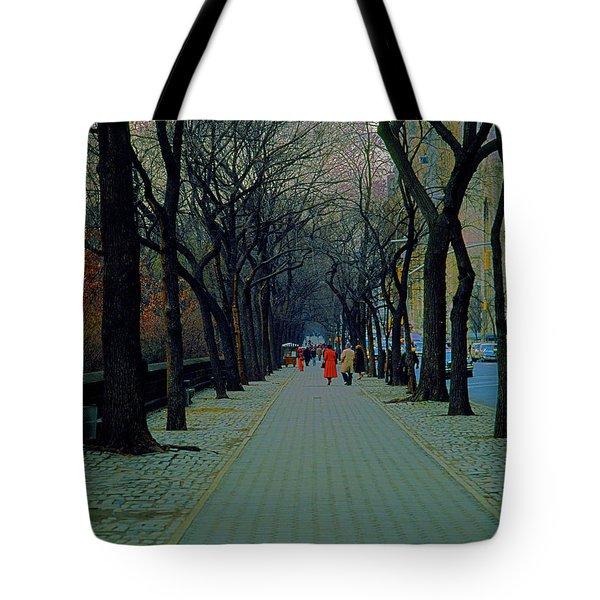 Central Park East Tote Bag