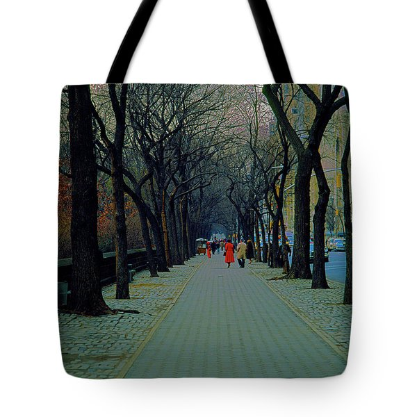 Central Park East Tote Bag