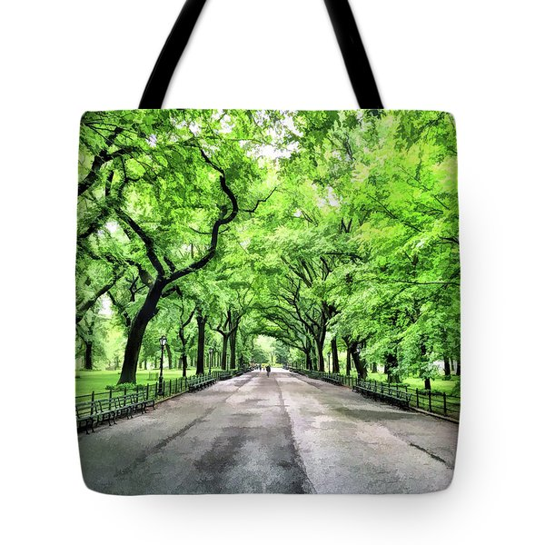 New York City Central Park Mall Tote Bag