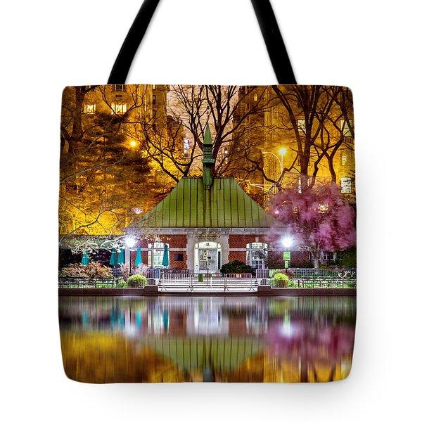 Central Park Memorial Tote Bag by Az Jackson