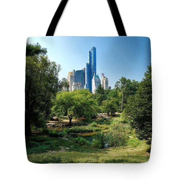 Central Park Ny Tote Bag