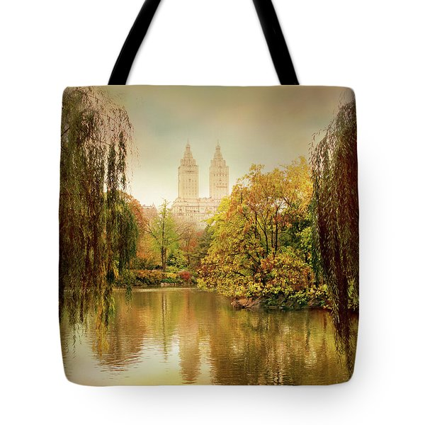 Tote Bag featuring the photograph Central Park Splendor by Jessica Jenney