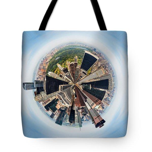 Eye Of New York Tote Bag