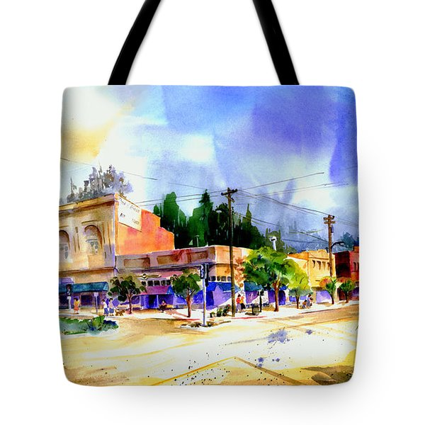 Central Square Auburn Tote Bag