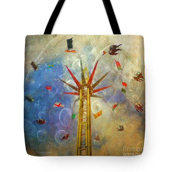 Centre Of The Universe Tote Bag
