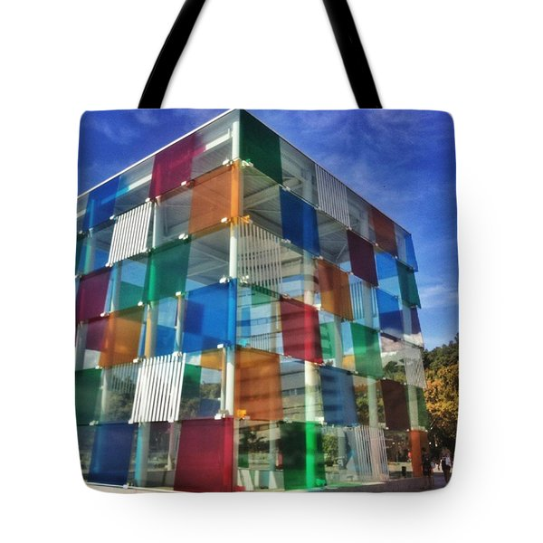 Centre #pompidou #malaga #museo #museum Tote Bag