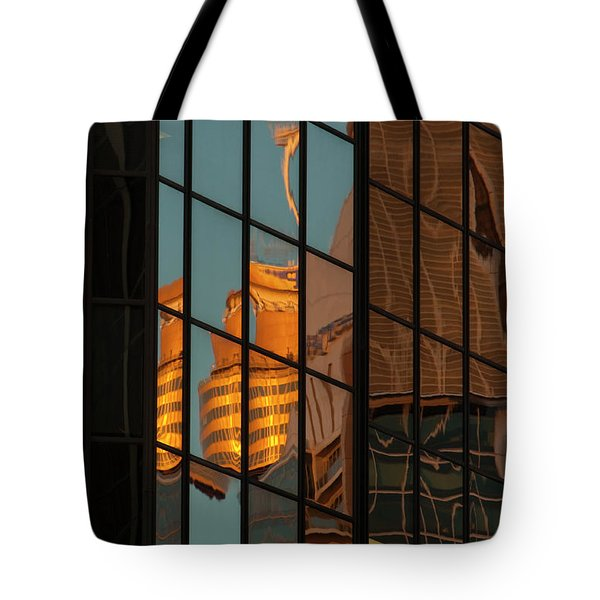 Centrepoint Hiding Tote Bag by Werner Padarin
