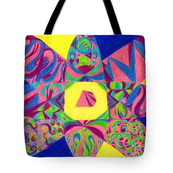 Centrifugal Tote Bag by Kim Sy Ok
