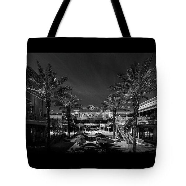 Tote Bag featuring the photograph Centro Ybor Bw by Marvin Spates