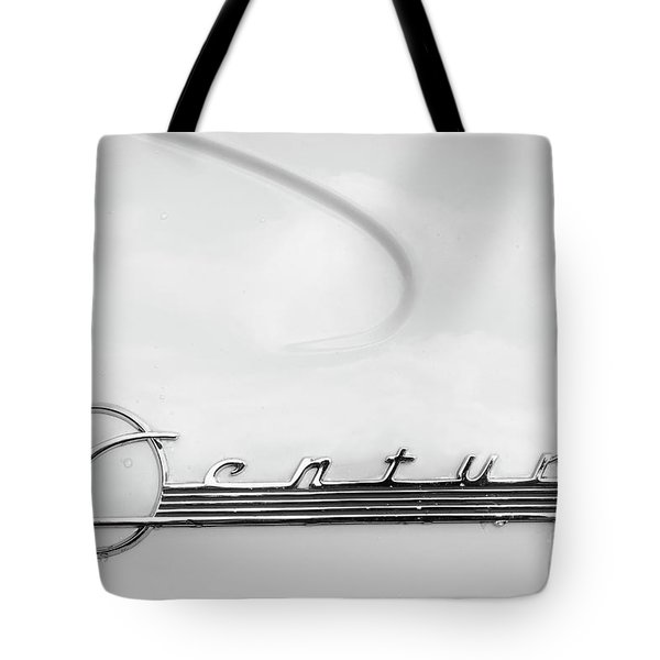 Tote Bag featuring the photograph Century Monotone by Dennis Hedberg
